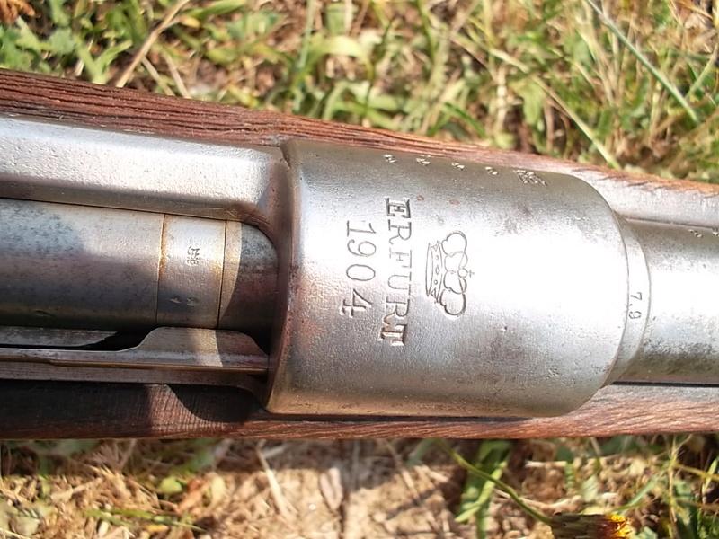 Mauser G98, petit d'1m25 dernièrement arrivé  Sam_2847