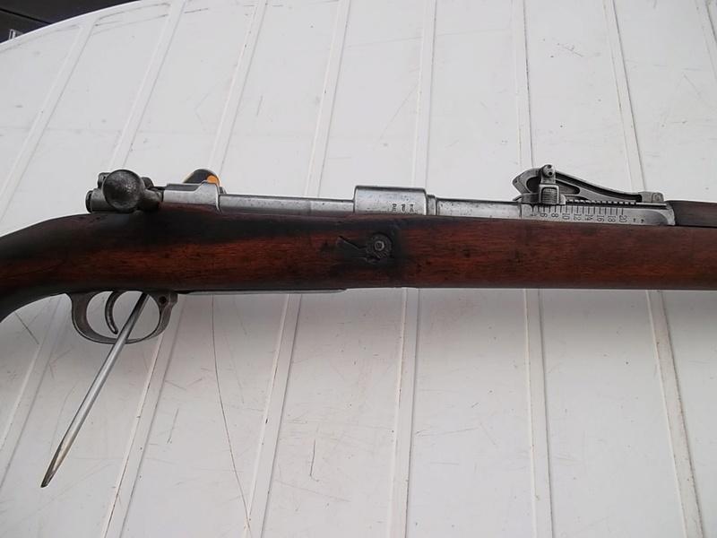 Mauser G98, petit d'1m25 dernièrement arrivé  Sam_2861