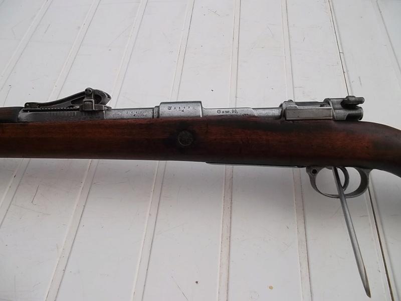 Mauser G98, petit d'1m25 dernièrement arrivé  Sam_2863