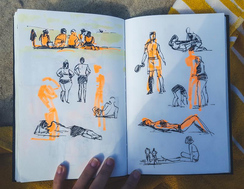 Sketchbook : IsaArne [ Challenge de l'ete P7 ] 20170610