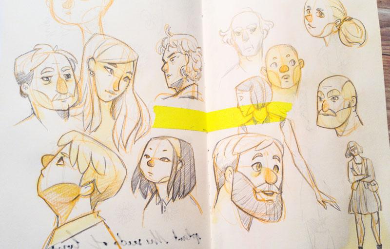 Sketchbook : IsaArne [ Challenge de l'ete P7 ] Lrm_2011