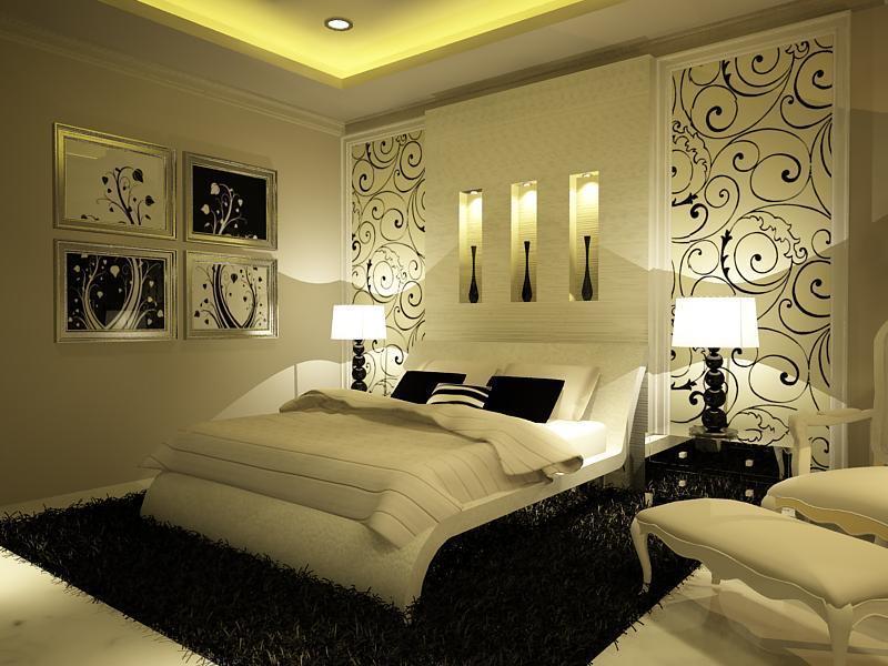ديكورات حديثة لغرف النوم 170