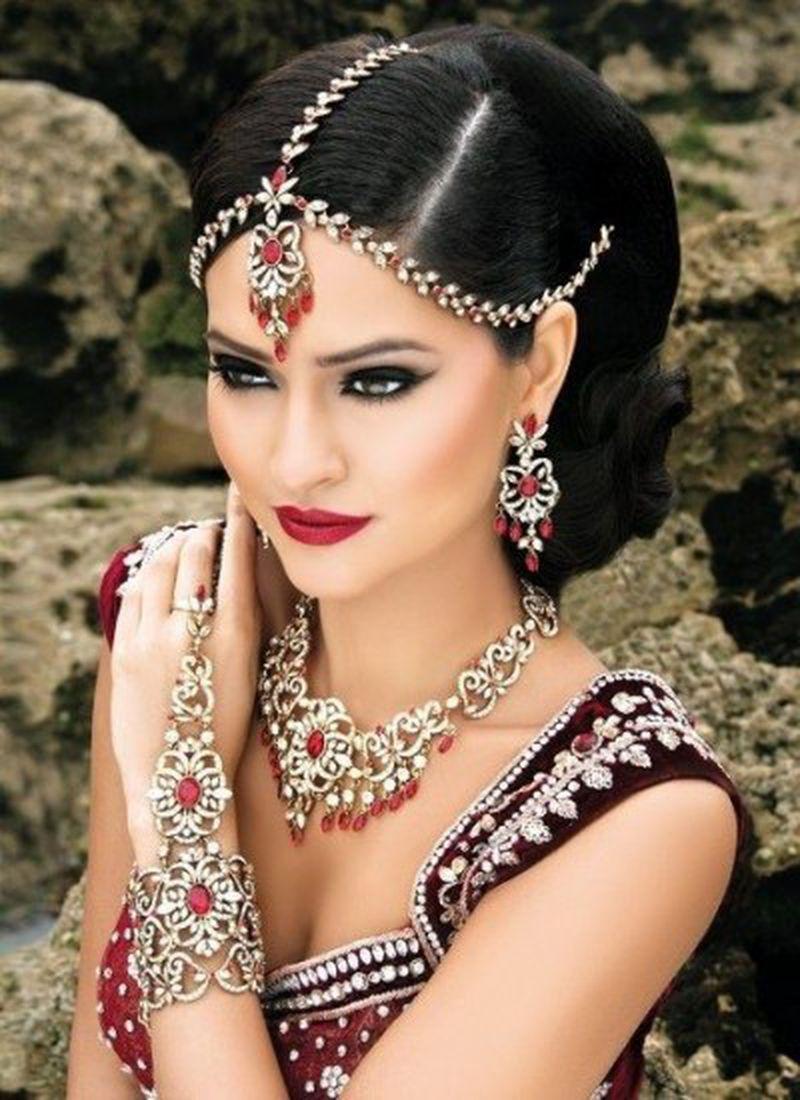 قصات شعر هندية مميزة 437