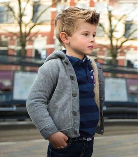 قصات شعر للاولاد مميزه 742