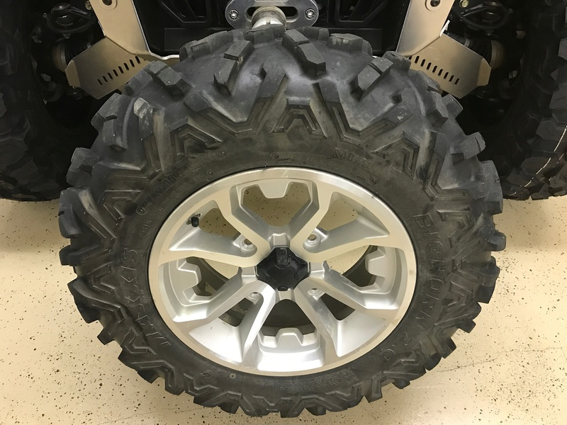 Maxxis Bighorn 2s on Can Am wheels Img_2511