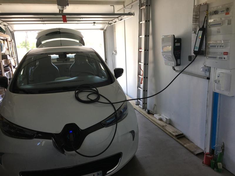 Installation de ma borne Schneider 7 kW par Proxiserve Img_2115