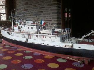 Calypso (navire océanographique 1ère version) par famille MARTINET P16-0542