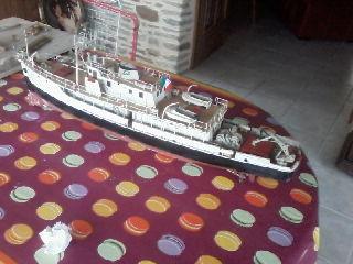 Calypso (navire océanographique 1ère version) par famille MARTINET P16-0544