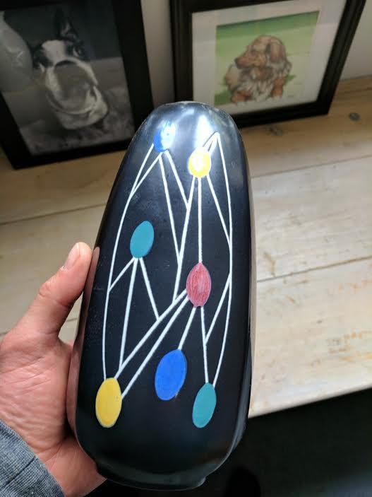 Danish vase, HJ mark Unname13