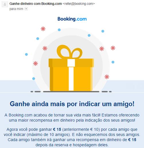 Oportunidade [Provado] Booking.com - Ganha dinheiro ao reservares o teu alojamento 0110