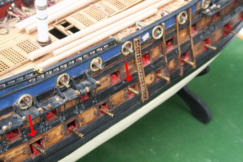 L'Ambitieux  un des navires de Tourville par michaud - Page 32 Img_0610