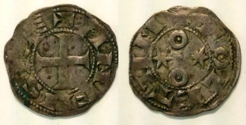 Dinero de Alfonso VI (Toledo, 1087-1090). Alfons11