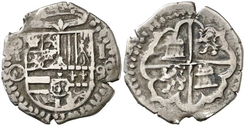 1 REAL Felipe II (1589/90) TOLEDO  F2_00110