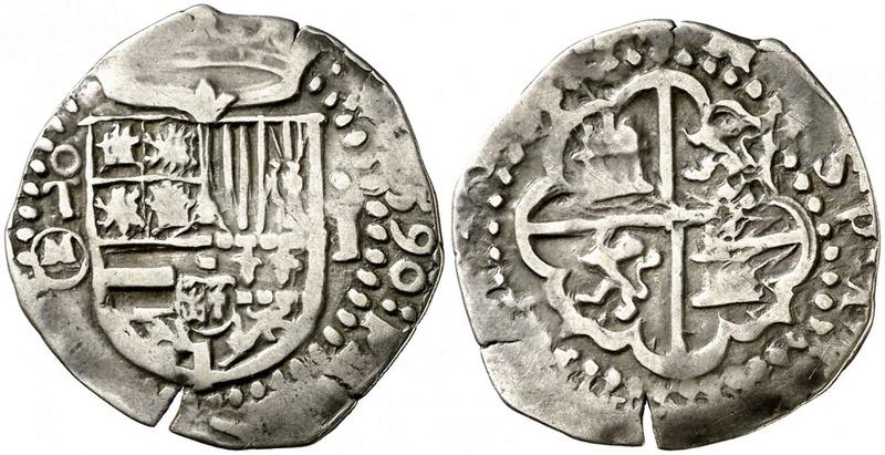 1 REAL Felipe II (1589/90) TOLEDO  F2_01210