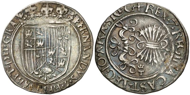 1 REAL - REYES CATÓLICOS - Toledo 1497-1530 Rc_14310