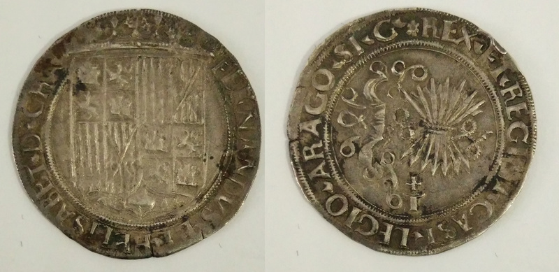 1 REAL - REYES CATÓLICOS - Toledo 1497-1530 Rc_15510