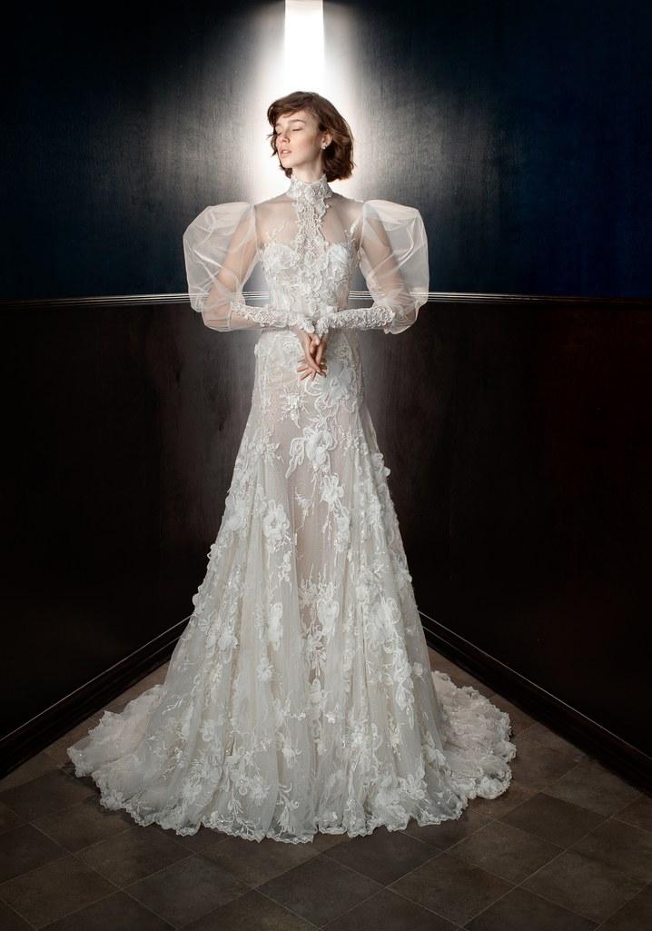 احدث فساتين الزفاف الجديدة  1116