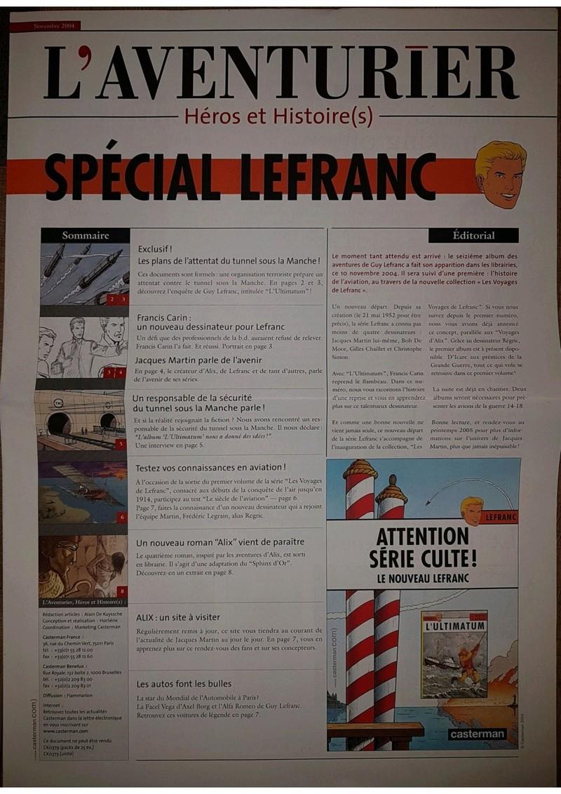 L'aventurier revient! - Page 2 Lefran13