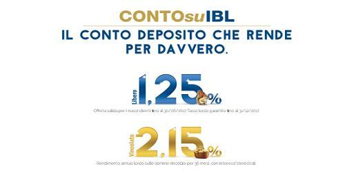ContosuIBL offre il tasso 1,25% sul libero e fino a 2,15% sul vincolato per i nuovi clienti [scaduta il 30/06/2017] Immagi15