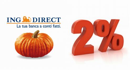 CONTO ARANCIO e CONTO CORRENTE ARANCIO offrono tasso al 2% per i vincoli a 6 mesi [promozione scaduta il 16/03/2019] Ing-di10
