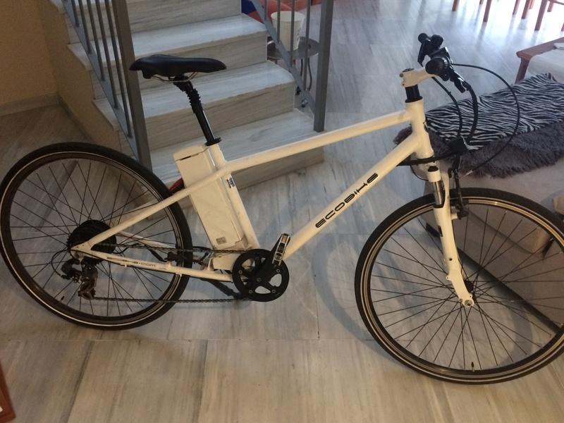 Vendida Bici Ecobike Basic con piñones de cambio  Img_7010
