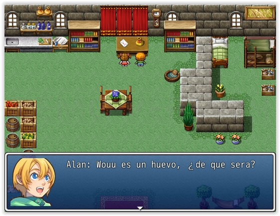 La leyenda de Alan. Screen10