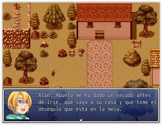 La leyenda de Alan. Screen12