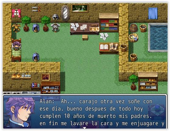 La leyenda de Alan. Screen13