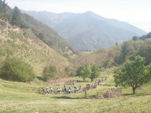 Biciliébana fiesta de la bicicleta 12-4-17 P1010210