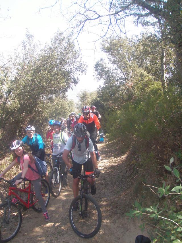 Biciliébana fiesta de la bicicleta 12-4-17 P1010313