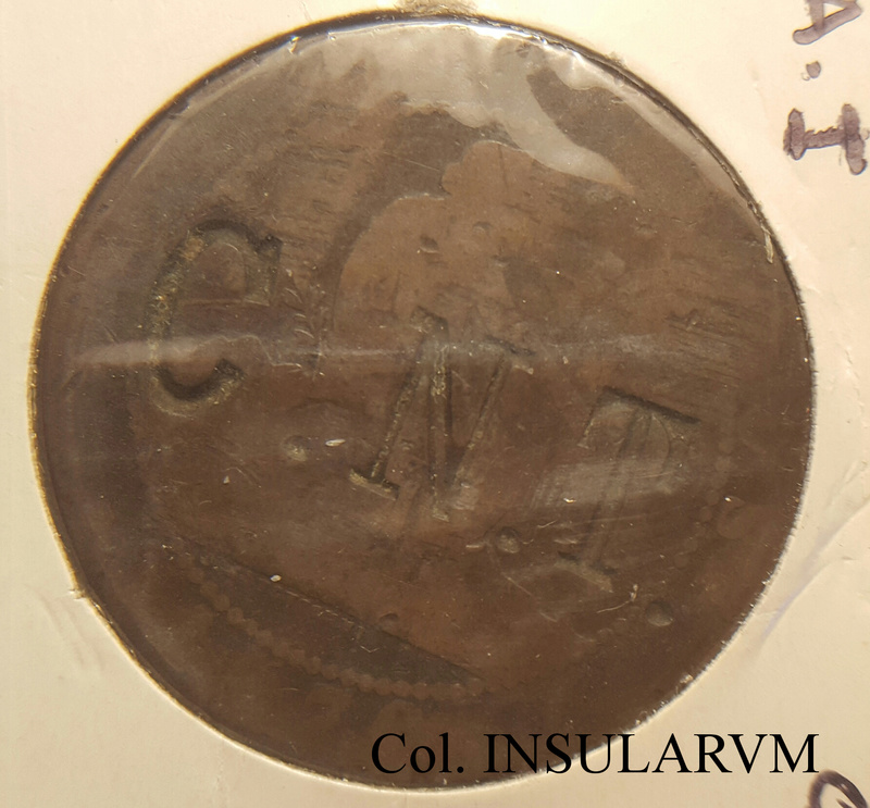10 Céntimos 1870 OM. Resellos políticos II República (CNT y FAI) 10_cyn10