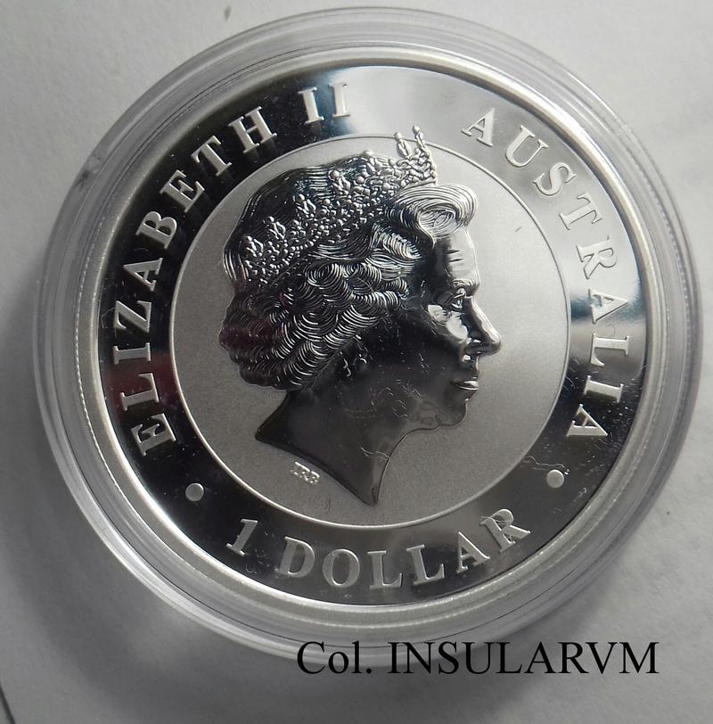 Australia, 1 Dólar (Onza plata) Kookaburra 2017 FDC/BU 1_onza13