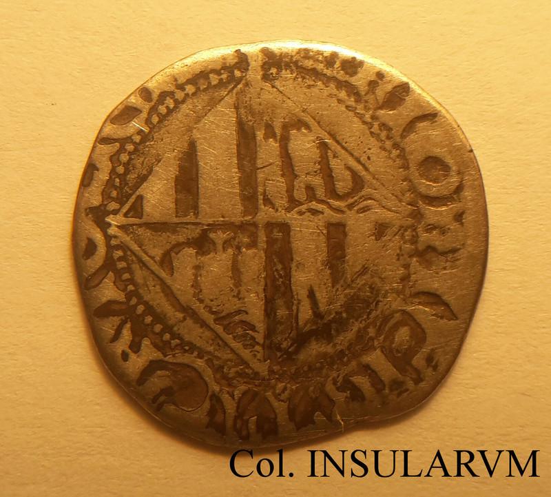Felipe II, 1 Real (Mallorca) Variante de letras góticas. BC-/BC 1_real11