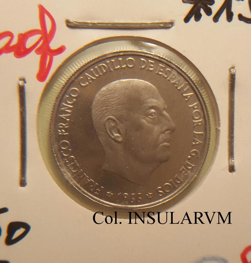 50 Céntimos 1966 (*19-72). Estado Español. PL/ARM 50_cyn10