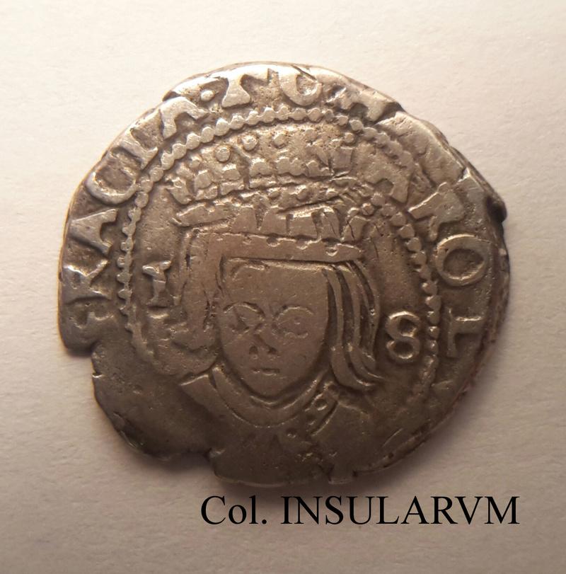 Carlos II, Dieciocheno 168(4) (Valencia) Acuñación doble. MBC- Diecio10