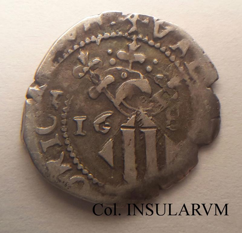 Carlos II, Dieciocheno 168(4) (Valencia) Acuñación doble. MBC- Diecio11