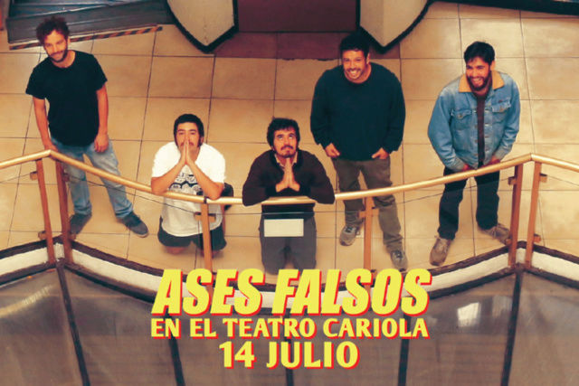 Ases Falsos en el Teatro Cariola Asesfa10