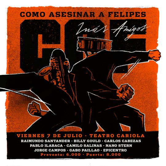 Como Asesinar a Felipes - 07 de Julio 2017 (Santiago) Caf10