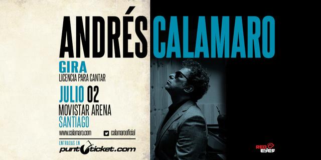 Andrés Calamaro - 02 de Julio 2017 (Santiago) Calama10