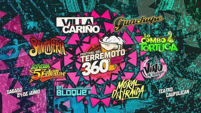 FESTIVAL DEL TERREMOTO - 24 De junio 2017 (Santiago) Festiv10
