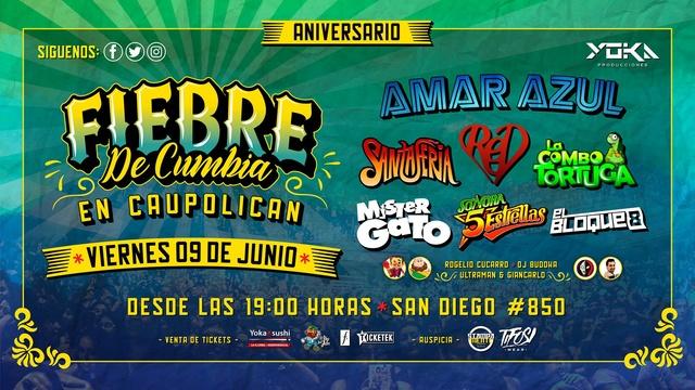 Fiebre De Cumbia - 9 De junio 2017 (Santiago) Fiebre10