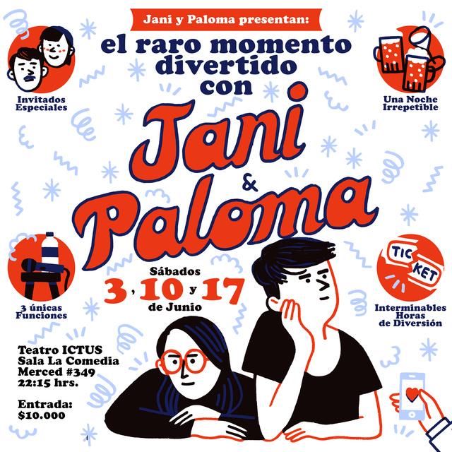 Jani y Paloma - Teatro Ictus (Junio) - Santiago Janiyp10