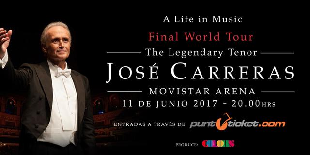 José Carreras - 11 De junio 2017 (Santiago) Joseca10