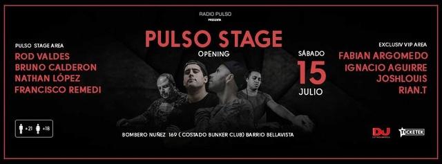 Pulso Stage  - 15 de Julio 2017 (Santiago) Pulsos10