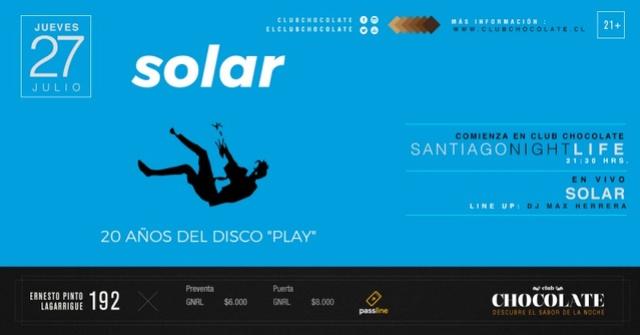Solar - 27 de Julio 2017 (Santiago) Solar11