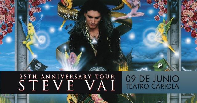 Steve Vai - Passion and Warfare 25th Anniversary Tour - 09-06-2017 (Santiago) Stevev10