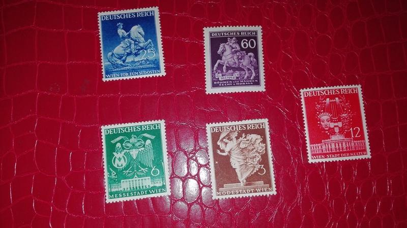 Briefmarken Deutsches Reich  00210