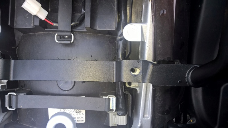 Réparation et modif support Top case GIVI Cassé Wp_20113