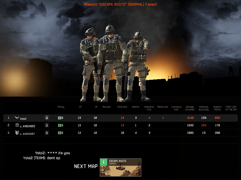 Playing with noobmates Vs Friends Warfac10