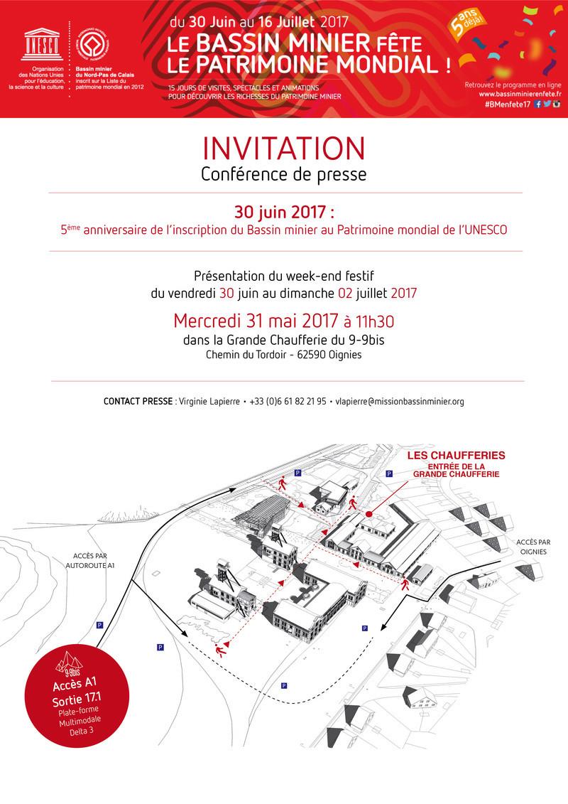 Conférence de presse 5e anniversaire Bassin minier Patrimoine mondial Invita10